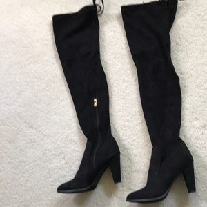 Catherine Malandrino over the knee black boots 9